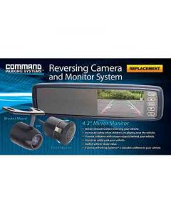Rear Vision Fixed Mount Mirror Minitor and Camera Pack