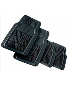 TRACTION 4 Piece Set Floor Mats
